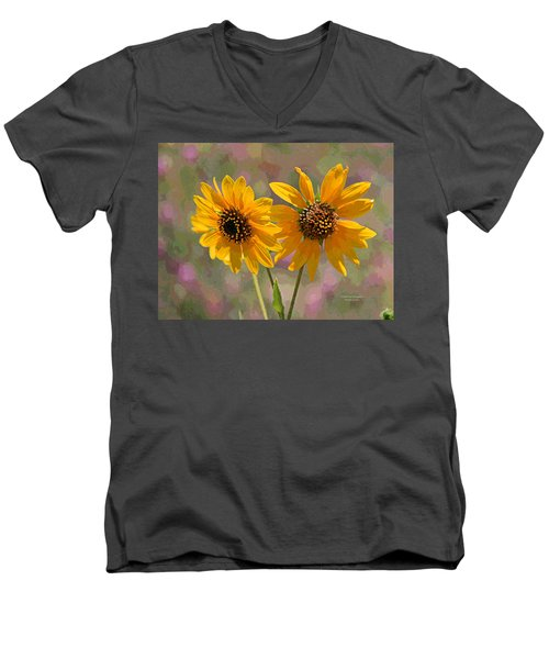 Black-eyed Susan Men's V-Neck T-Shirt