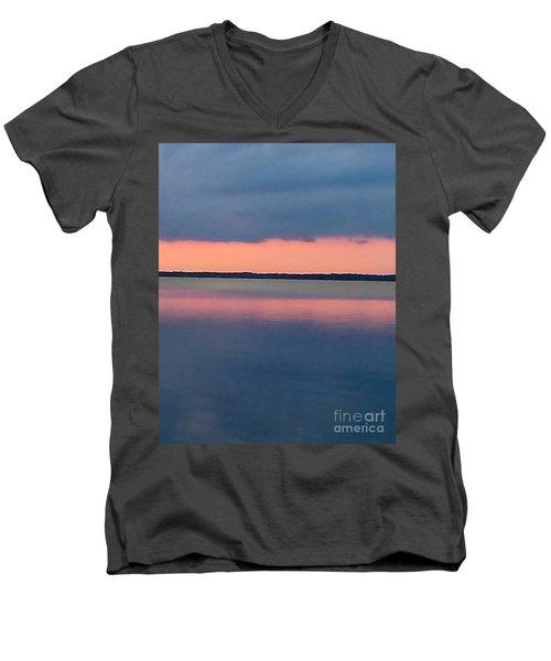 Black Hammock Sunset Men's V-Neck T-Shirt
