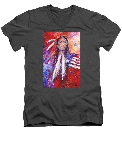 Blackfeet Men's V-Neck T-Shirt