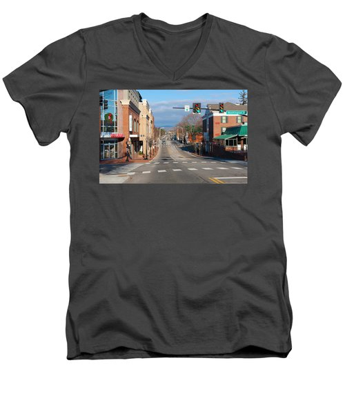 Blacksburg Virginia Men's V-Neck T-Shirt