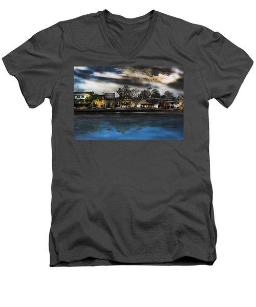 Blackwater River Men's V-Neck T-Shirt