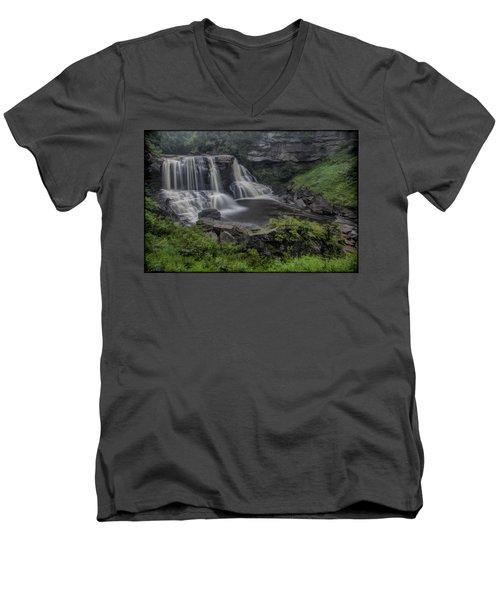 Blackwater Watercolor Men's V-Neck T-Shirt