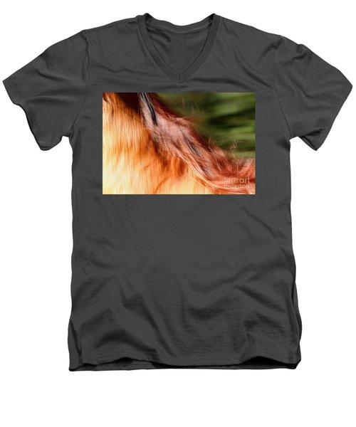 Blazing Fast Men's V-Neck T-Shirt