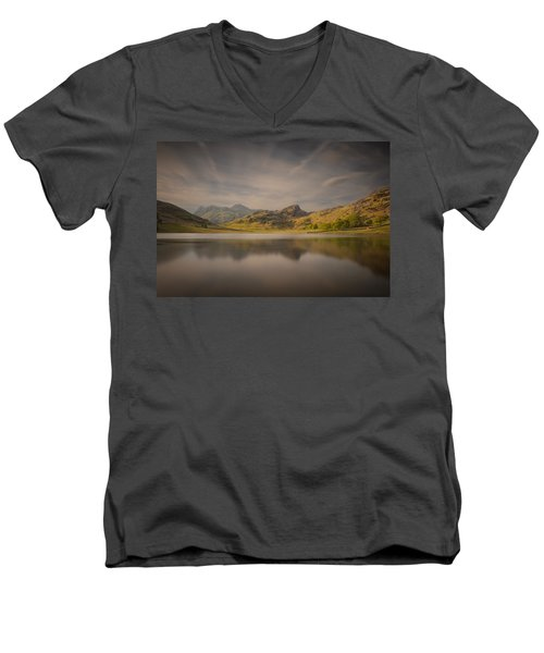 Blea Tarn Lake District Men's V-Neck T-Shirt