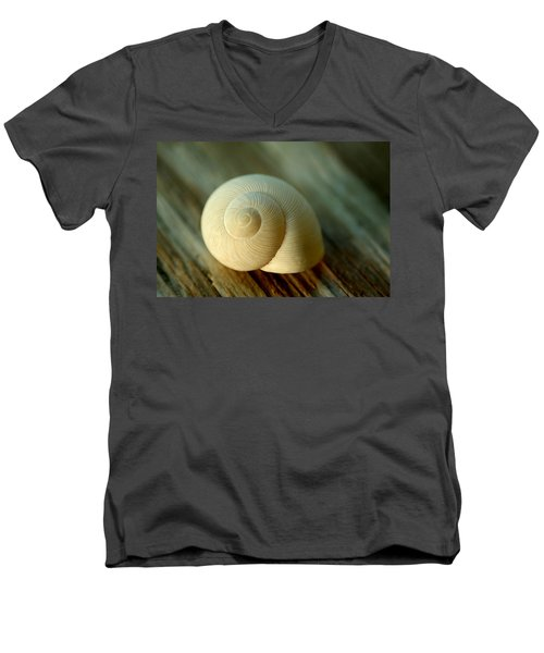 Bleached Men's V-Neck T-Shirt by Greg Allore