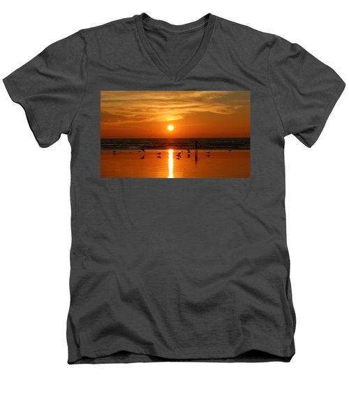 Bliss At Sunset   Men's V-Neck T-Shirt