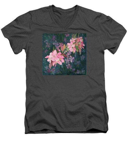 Blossoms For Sally Men's V-Neck T-Shirt