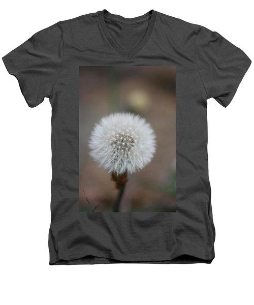 Blow Ball  Men's V-Neck T-Shirt by Daniel Precht