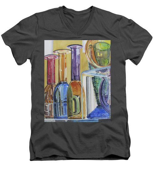 Blown Glass Men's V-Neck T-Shirt