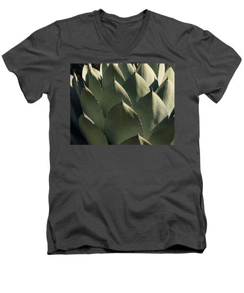 Blue Aloe Men's V-Neck T-Shirt