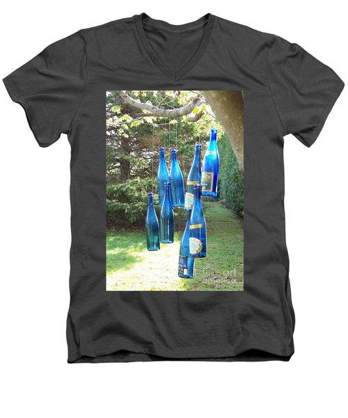 Blue Bottle Tree Men's V-Neck T-Shirt