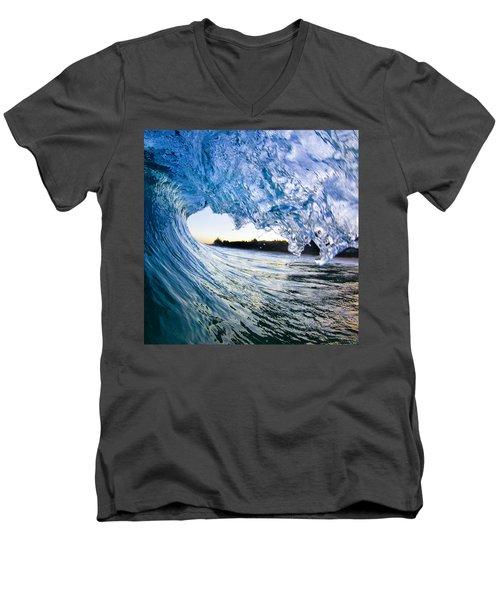 Blue Envelope  -  Part 2 Of 3 Men's V-Neck T-Shirt
