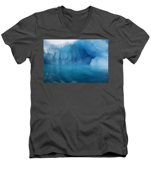 Blue Grotto Men's V-Neck T-Shirt