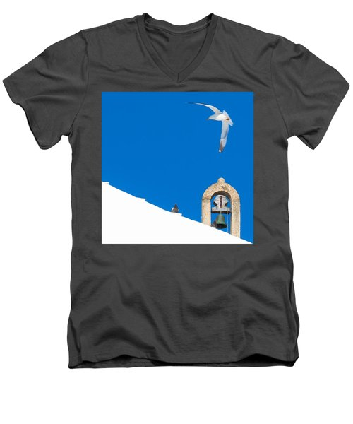 Blue Gull Men's V-Neck T-Shirt