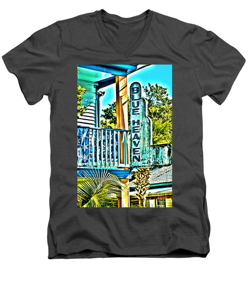 Blue Heaven In Key West - 1 Men's V-Neck T-Shirt