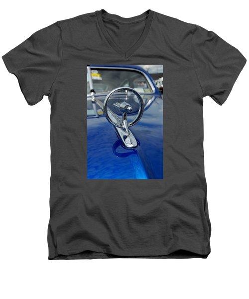 Blue Hood Men's V-Neck T-Shirt
