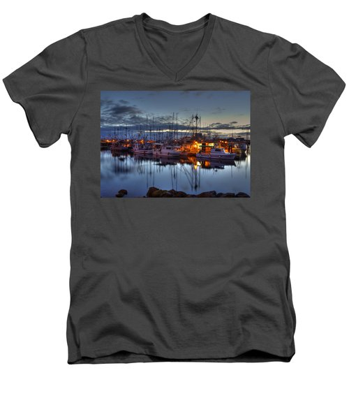 Blue Hour Men's V-Neck T-Shirt