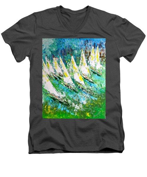 Blue Moon Chicago - Sold Men's V-Neck T-Shirt