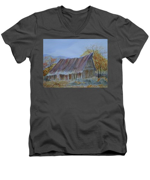 Blue Ridge Barn Men's V-Neck T-Shirt