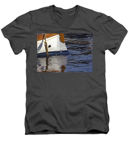Blue Rudder Men's V-Neck T-Shirt