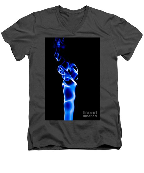 Blue Smoke Men's V-Neck T-Shirt