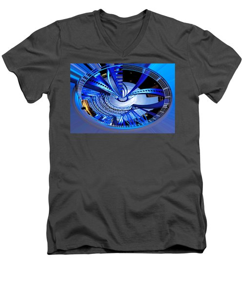 Blue Steel Men's V-Neck T-Shirt