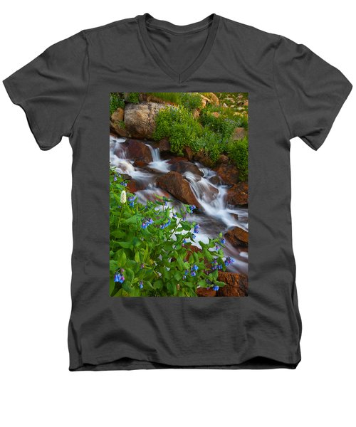 Bluebell Creek Men's V-Neck T-Shirt