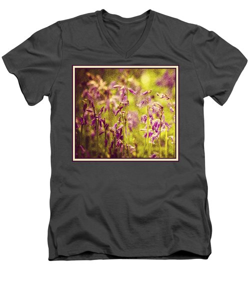 Bluebell In The Woods Men's V-Neck T-Shirt