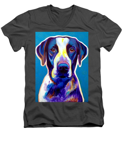 Bluetick Coonhound - Berkeley Men's V-Neck T-Shirt