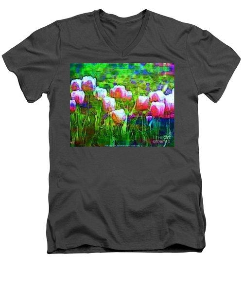 Blurry Vision Losing Mine Men's V-Neck T-Shirt