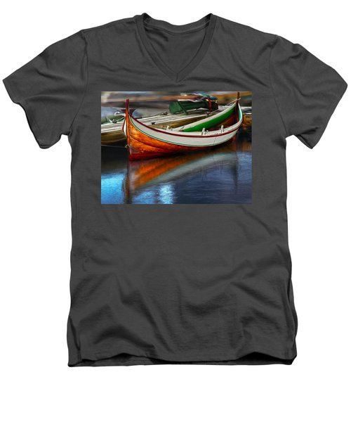 Boat Men's V-Neck T-Shirt