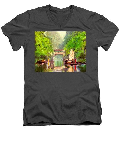 Boatmen Men's V-Neck T-Shirt