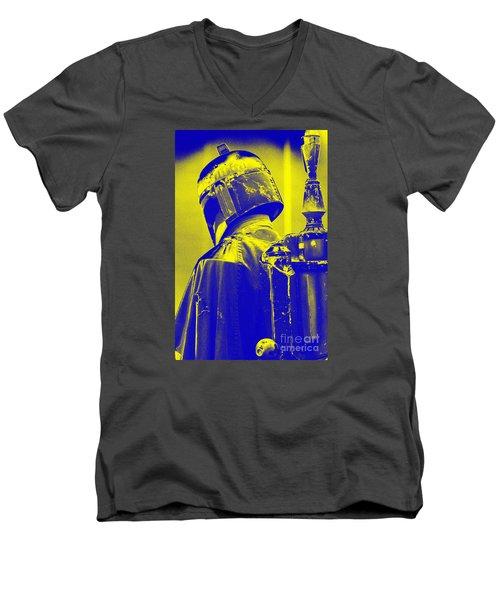 Boba Fett Costume 1 Men's V-Neck T-Shirt