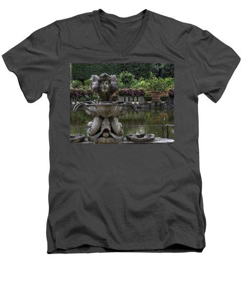 Boboli Fountain Men's V-Neck T-Shirt