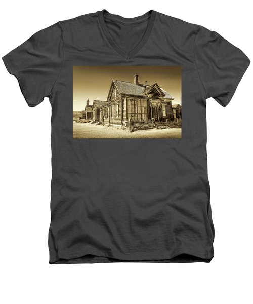 Bodie Ghost Town Men's V-Neck T-Shirt