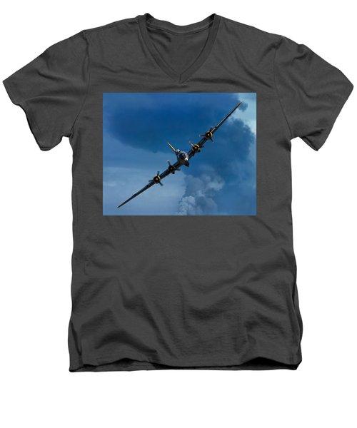 Boeing B-17 Flying Fortress Men's V-Neck T-Shirt