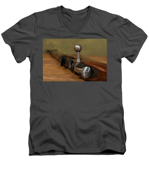 Bolt Action Men's V-Neck T-Shirt