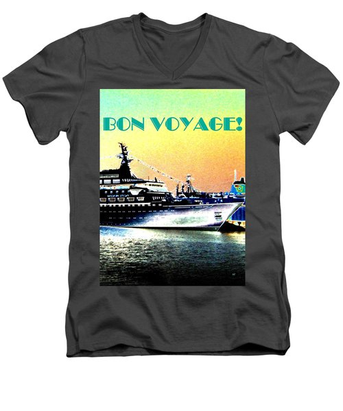Bon Voyage Men's V-Neck T-Shirt