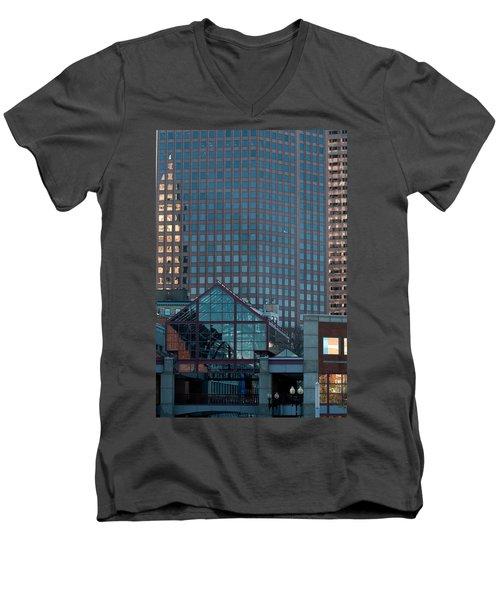 Boston Reflections Men's V-Neck T-Shirt
