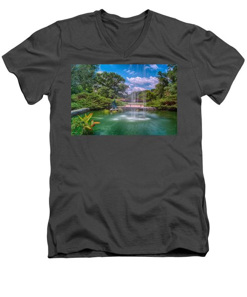 Botanical Garden Men's V-Neck T-Shirt