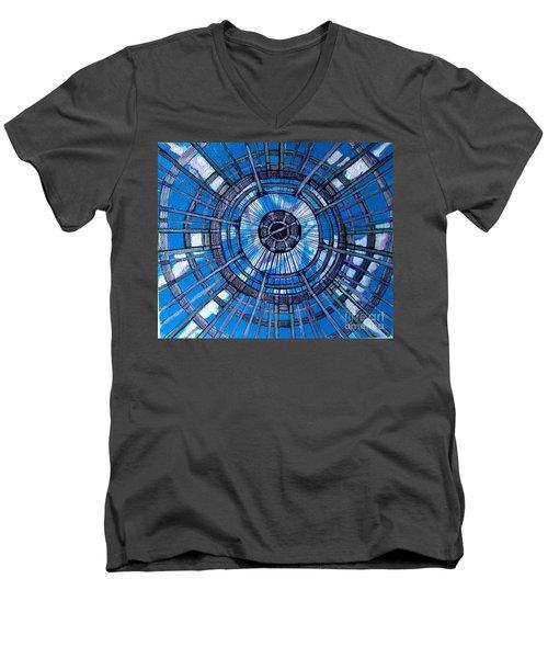 Botanical Looking Up Men's V-Neck T-Shirt