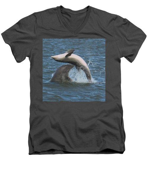 Bottom's Up Men's V-Neck T-Shirt