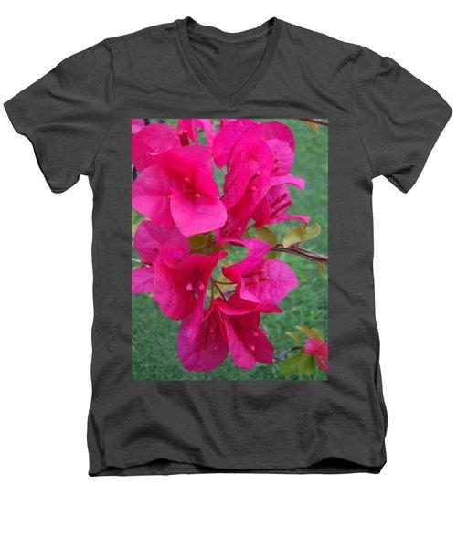 Bougainvillea Dream #2 Men's V-Neck T-Shirt