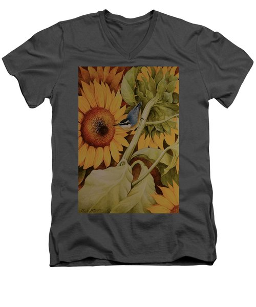 Bountiful Harvest Men's V-Neck T-Shirt