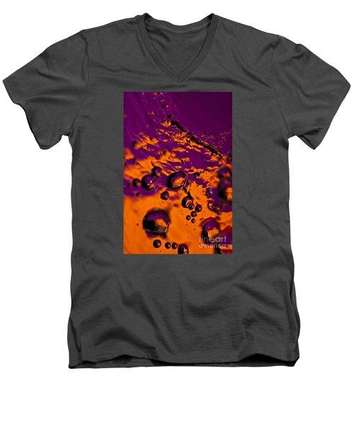 Bourbon Men's V-Neck T-Shirt by Anthony Sacco