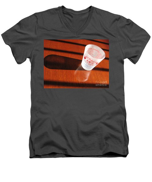 Men's V-Neck T-Shirt featuring the photograph Bowling History by Michael Krek