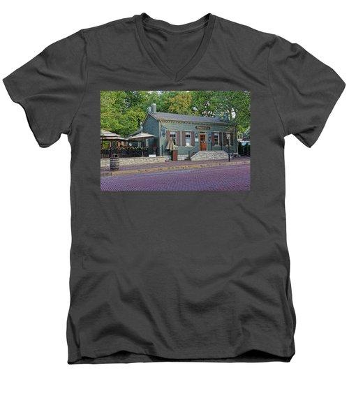 Braddens Main Street St Charles Mo Dsc00874  Men's V-Neck T-Shirt by Greg Kluempers