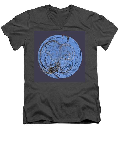 Branch Orb Men's V-Neck T-Shirt