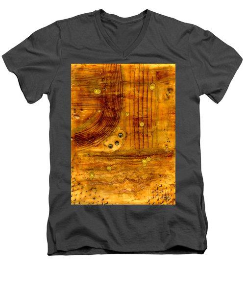 Brass Tokens Men's V-Neck T-Shirt