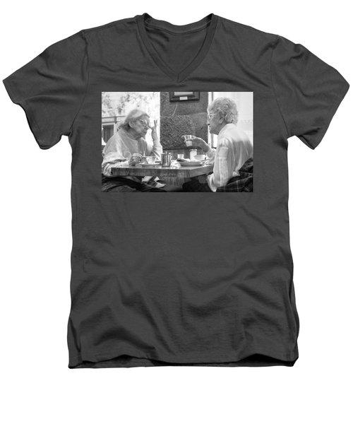 Breakfast Ladies Men's V-Neck T-Shirt